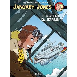 JENNIFER JONES - JANUARY JONES - 6 - LE TOMBEAU DU ZEPPELIN