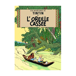 CARTE POSTALE COUVERTURE - OREILLE CASSEE