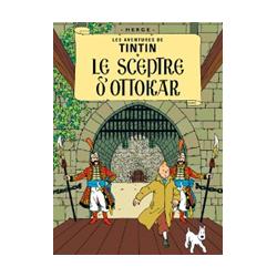 CARTE POSTALE COUVERTURE - SCEPTRE D OTTOKAR