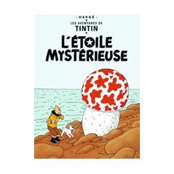 CARTE POSTALE COUVERTURE - ETOILE MYSTERIEUSE