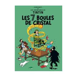 CARTE POSTALE COUVERTURE - 7 BOULES DE CRISTAL
