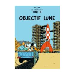 CARTE POSTALE COUVERTURE - OBJECTIF LUNE
