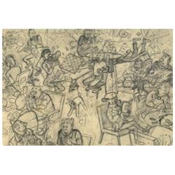 MUSEE - CARTE POSTALE - CRAYONNE - TIBET «TCHANG»