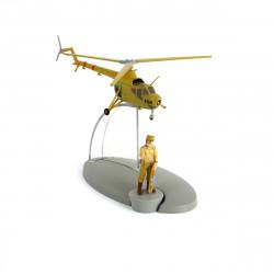 AVIONS TINTIN - HELICOPTERE ARMEE SAN TEODOROS 22