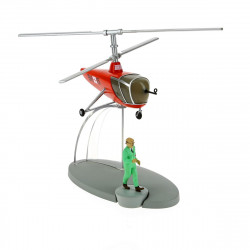 AVIONS TINTIN - HELICOPTERE ROUGE ( BH15) 30