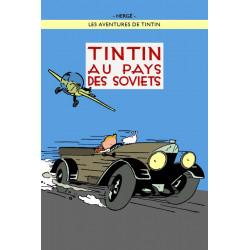 POSTER CV24 - AU PAYS DES SOVIETS - COULEUR - 70X50CM