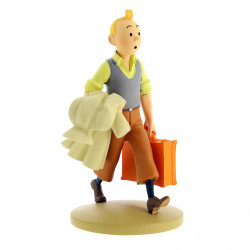 FIGURINE RESINE (COLLECTION 12CM) - TINTIN EN ROUTE