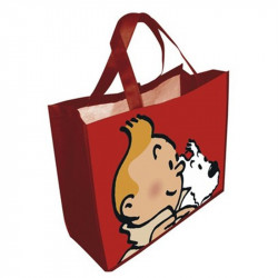 SAC SEMI-IMPERMEABLE TINTIN & MILOU  GRAND