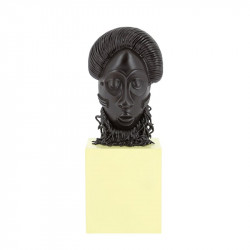 RESINE - MUSEE IMAGINAIRE - LE MASQUE AFRICAIN