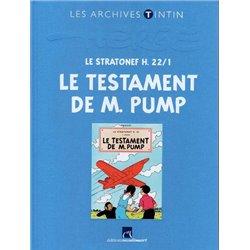 TINTIN (LES ARCHIVES - ATLAS 2010) - 27 - LE STRATONEF H. 221 : LE TESTAMENT DE M. PUMP