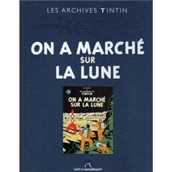 TINTIN (LES ARCHIVES - ATLAS 2010) - 9 - ON A MARCHÉ SUR LA LUNE