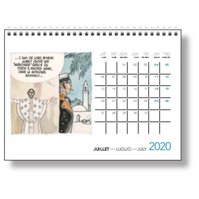 CALENDRIER A POSER CORTO MALTESE 2020 (15X21)