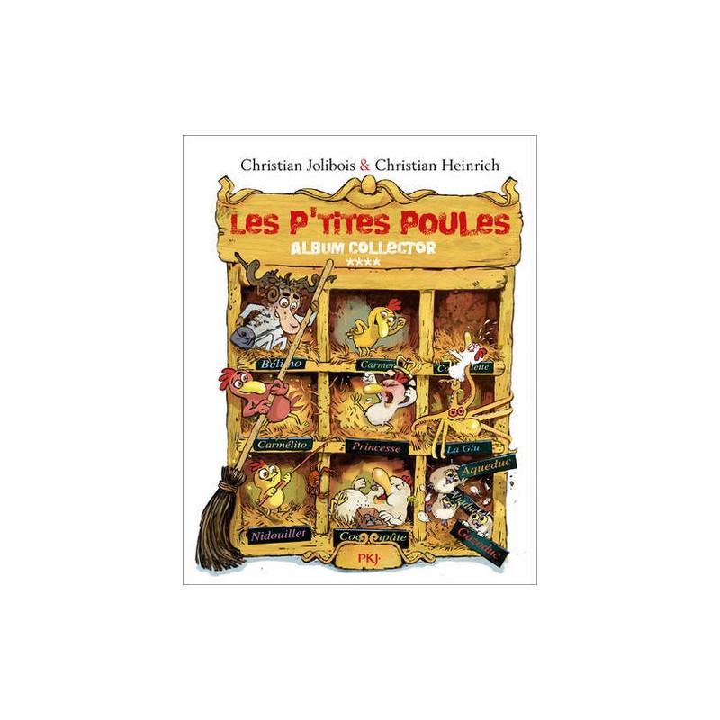 LES P'TITES POULES - ALBUM COLLECTOR T04 (TOMES 13 À 16)