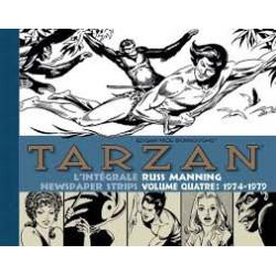 TARZAN : L'INTÉGRALE RUSS MANNING  - 4 - NEWSPAPER STRIPS VOLUME QUATRE: 1974-1979