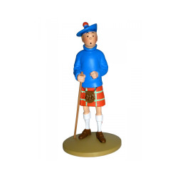 FIGURINE RESINE (COLLECTION 12CM) - TINTIN KILT