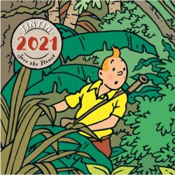 CALENDRIER A POSER TINTIN  2021
