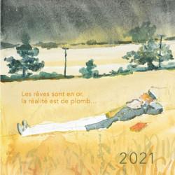 CALENDRIER A POSER CORTO  2021
