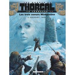 THORGAL (LES MONDES DE) - LA JEUNESSE DE THORGAL - 1 - LES TROIS SŒURS MINKELSÖNN