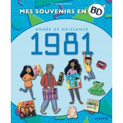 MES SOUVENIRS EN BD - 1981
