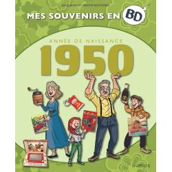 MES SOUVENIRS EN BD - 1950