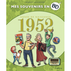 MES SOUVENIRS EN BD - 1952