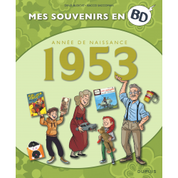 MES SOUVENIRS EN BD - 1953