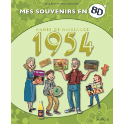MES SOUVENIRS EN BD - 1954