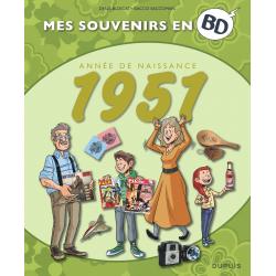 MES SOUVENIRS EN BD - 1951