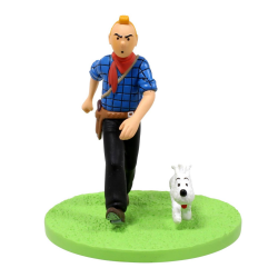 COFFRET TINTIN COW-BOY FIG