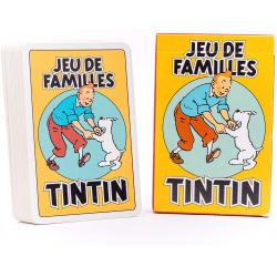 JEU DE CARTES TINTIN FAMILLE