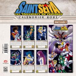 SAINT SEIYA - CALENDRIER 2021