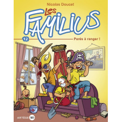 LES FAMILIUS, PARÉS À RANGER ! - TOME 12