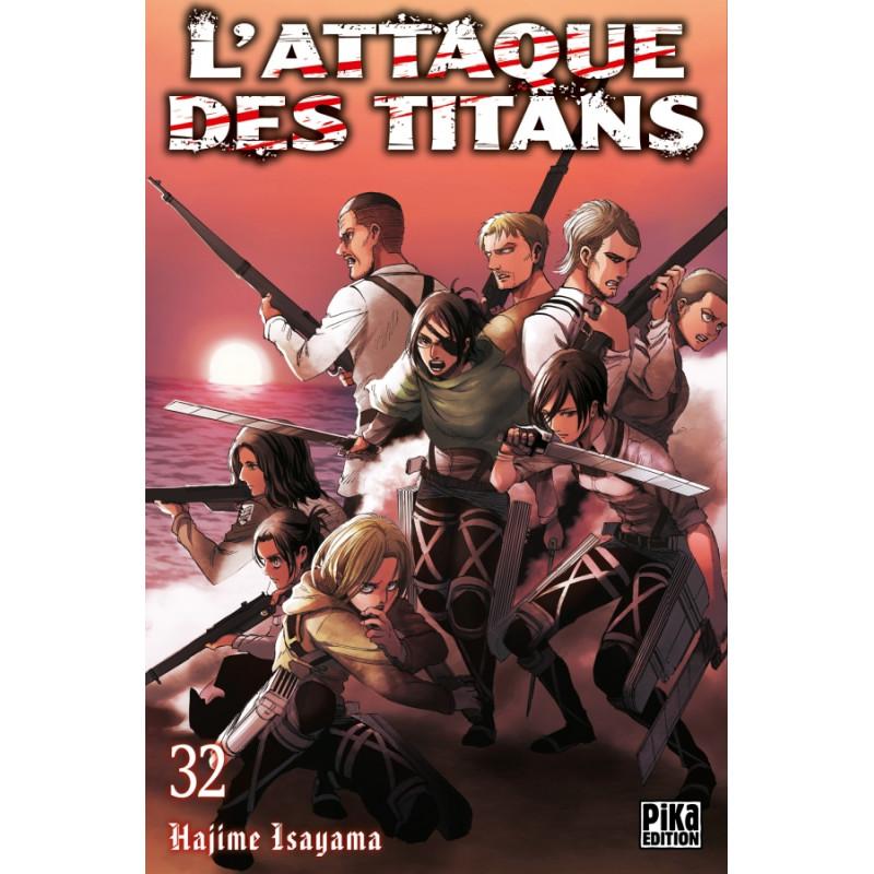 L'ATTAQUE DES TITANS T32