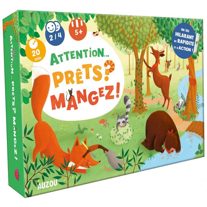 GRAND JEU - ATTENTION... PRETS ? MANGEZ !