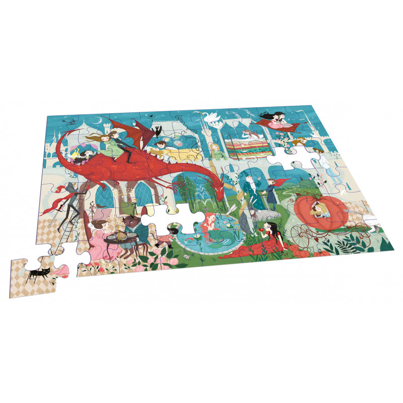 MON PUZZLE DES PRINCESSES (COLL. BOITE PUZZLE)
