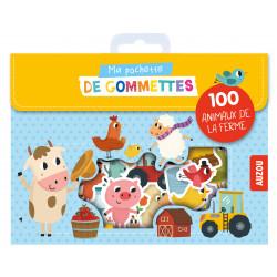 MA POCHETTE DE GOMMETTES - 100 GOMMETTES A LA FERME