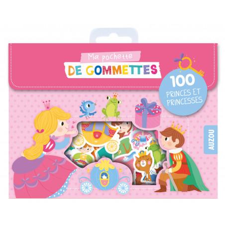 MA POCHETTE DE GOMMETTES -100 GOMMETTES P'TITES PRINCESSES