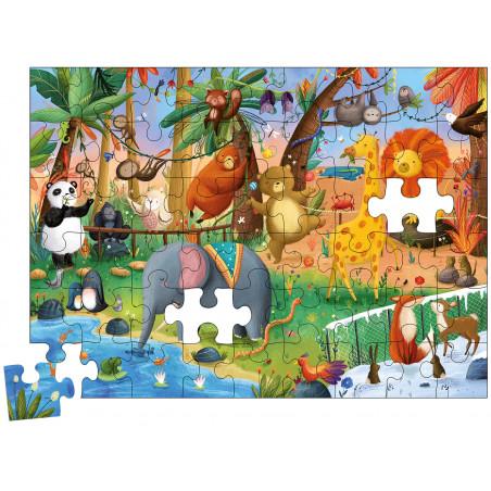 MON PUZZLE ZOO MAGIQUE (COLL. BOITE PUZZLE)