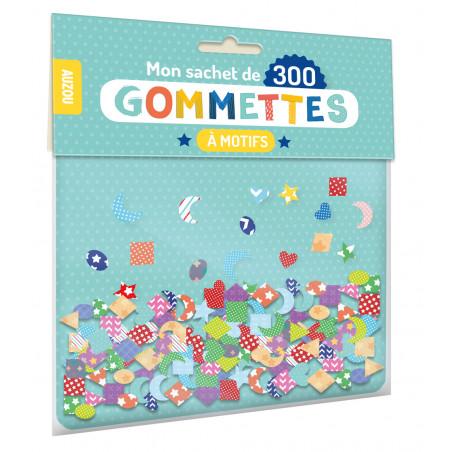 MON SACHET DE 300 GOMMETTES À MOTIFS