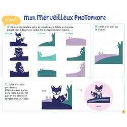 MON MERVEILLEUX PHOTOPHORE EN PAPER ART
