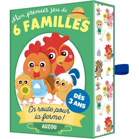 EN ROUTE POUR LA FERME MON PREMIER JEU DE 6 FAMILL