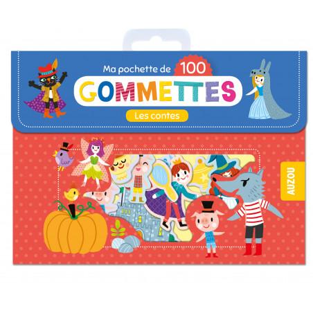 MA POCHETTE DE 100 GOMMETTES - LES CONTES
