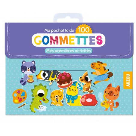 MA POCHETTE DE 100 GOMMETTES - MES PREMIÈRES ACTIVITÉS