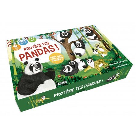 PROTEGE TES PANDAS ! - GARE AUX LEOPARDS CACHES JE