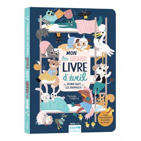 BONNE NUIT LES ANIMAUX - TRES GRAND LIVRE D EVEIL