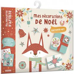MES DÉCORATION DE NOËL - EN PAPER ART