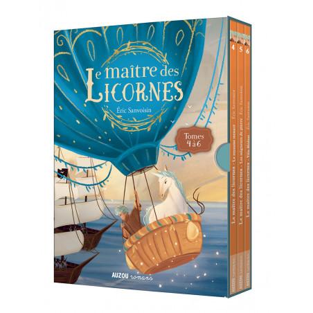 COFFRET LE MAITRE DES LICORNES T04 A T06