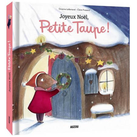 JOYEUX NOËL, PETITE TAUPE - TOUT-CARTON À TOUCHER