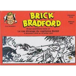 LUC BRADEFER - BRICK BRADFORD (COFFRE À BD) - BRICK BRADFORD - STRIPS QUOTIDIENS TOME 17