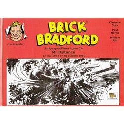 LUC BRADEFER - BRICK BRADFORD (COFFRE À BD) - BRICK BRADFORD - STRIPS QUOTIDIENS TOME 24